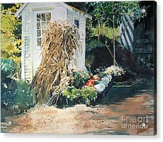 Fall At Ivy Corners Acrylic Print