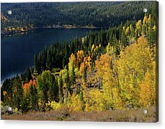 Fall At Rock Creek Lake Eastern Sierra Acrylic Print