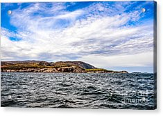Acrylic Print featuring the photograph Fall At Somes Sound by Anthony Baatz