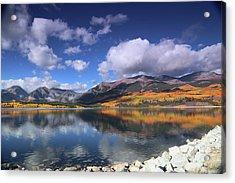 Fall At Twin Lakes Acrylic Print
