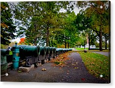 Fall At West Point Acrylic Print by David Hahn