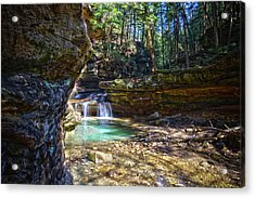 Fall Below Old Mans Cave Acrylic Print