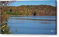 Fall Color At Lake Zwerner Acrylic Print