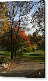 Fall Colors At Brooks Acrylic Print