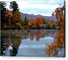 Fall Colors Acrylic Print by Dan McManus