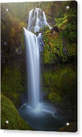 Acrylic Print featuring the photograph Fall Creek Falls by Darren White