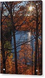 Fall Evening Sun Acrylic Print