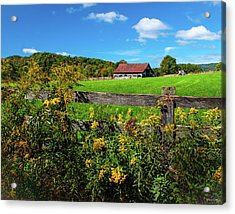 Fall Farm Acrylic Print