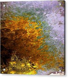 Acrylic Print featuring the digital art Fall Foliage by John Krakora