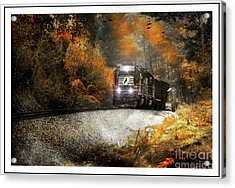 Fall Freight Acrylic Print