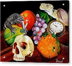 Fall Harvest Acrylic Print by Ferrel Cordle