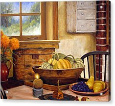 Fall Harvest Acrylic Print by Richard T Pranke