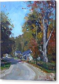 Fall In Glen Williams On Acrylic Print