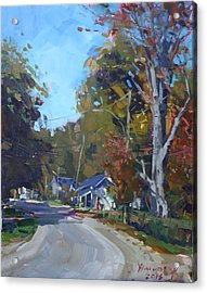 Fall In Glen Williams On Acrylic Print by Ylli Haruni