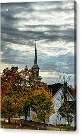 Fall In Lamoine Acrylic Print