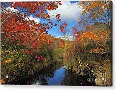 Fall In New England 2 Acrylic Print