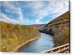 Fall In Pa Acrylic Print by Jack R Perry
