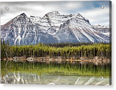 Acrylic Print featuring the photograph Fall In The Canadian Rockies by Pierre Leclerc Photography