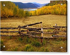 Fall In The Rockies 2 Acrylic Print by Marty Koch