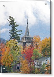 Fall In Upstate New York Acrylic Print by Becky Hollis