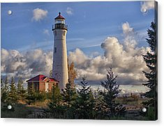 Fall Morning At Crisp Point Acrylic Print