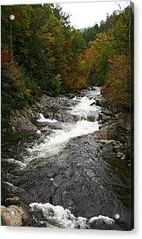 Fall Mountain Stream Acrylic Print by James Jones