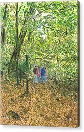 Fall Nymphs - IIi Acrylic Print