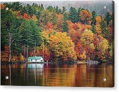 Fall On Lake Winnipesaukee Acrylic Print