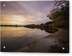 Fall On The Tidal Basin Acrylic Print