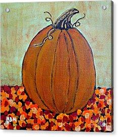Fall Pumpkin Acrylic Print