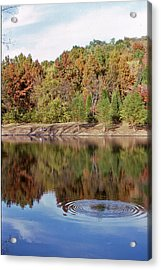 Fall Reflections - 1 Acrylic Print