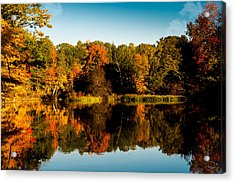 Fall Reflections Acrylic Print