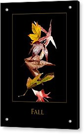Fall Acrylic Print by Richard Gordon