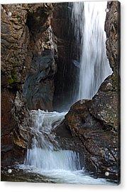 Fall River Road Waterfall Acrylic Print