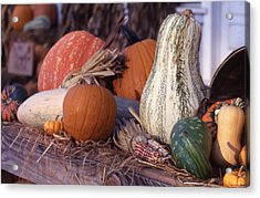 Fall-roadside-produce Acrylic Print