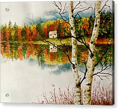 Fall Splendour Acrylic Print