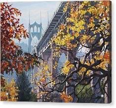 Fall St Johns Acrylic Print