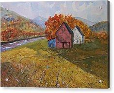 Fall Sun Acrylic Print