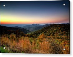 Acrylic Print featuring the photograph Fall Sunrise by Ryan Wyckoff
