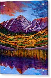 Fall Symphony Acrylic Print by Johnathan Harris