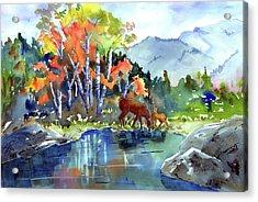 Fall, Upon Us Acrylic Print