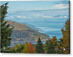 Fall View Of The St. Lawrence Acrylic Print