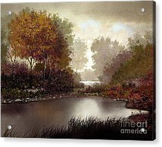 Fall Waters Acrylic Print by Robert Foster