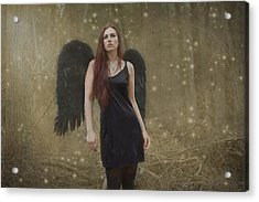 Acrylic Print featuring the photograph Fallen Angel by Brian Hughes