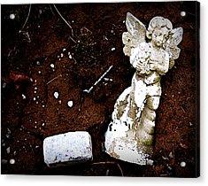 Fallen Angel Acrylic Print by Susie Weaver