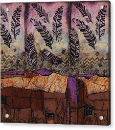 Fallen Feathers  Acrylic Print