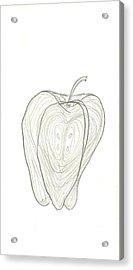 Fallen Fruits Acrylic Print by Theresa Rawlings