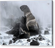 Fallen Ice Acrylic Print
