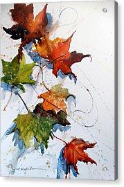 Falling Down    Acrylic Print