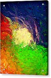 Falling In Acrylic Print